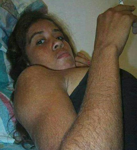 Girls with hairy arms flckr
